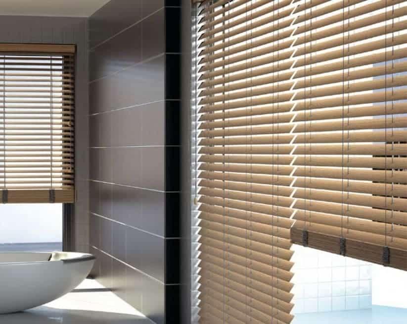 Estores y persianas para la cocina y el baño