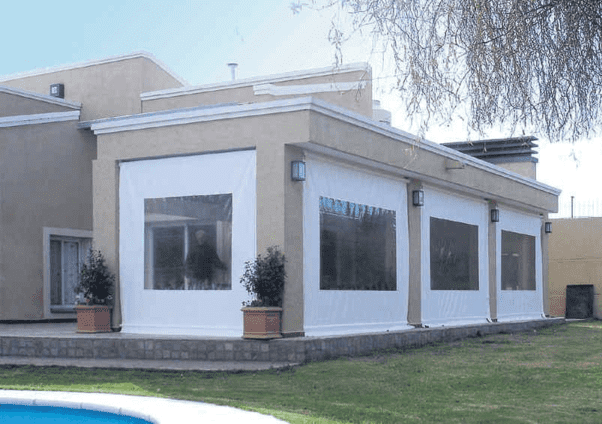 Ventajas de cerramientos de terraza con lona
